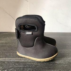 Bogs Waterproof Black Infant Boots
